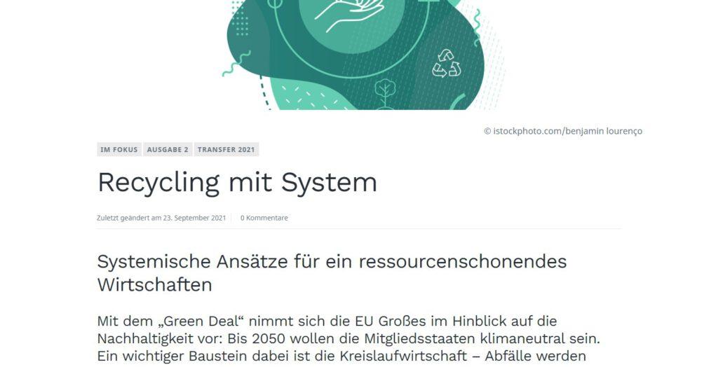 Ausschnitt des Titelbildes des Artikels von Prof. Dr.-Ing. Mathias Seitz.